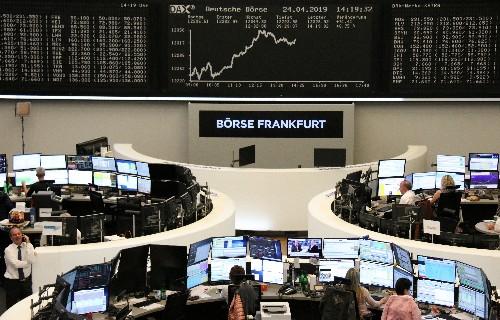 Las bolsas europeas caen ante la inquietud por el crecimiento y el retroceso de Nokia