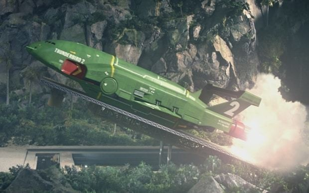 Thunderbirds Are Go, first review: 'a decent fist of it'