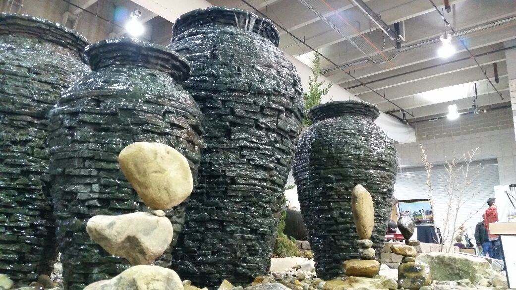 Part of our display at the Pittsburgh Home & Garden Show 2015