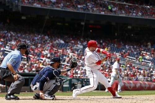 MLB notebook: Nationals slug 8 homers against Brewers