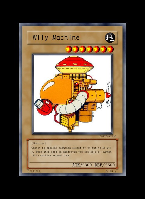 The first wily Wily machine joins yugio