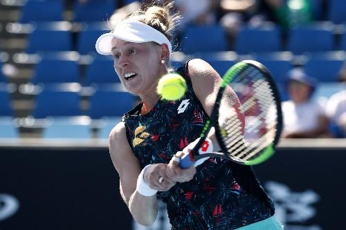 Tennis: American Riske stuns home favorite Bertens to lift title in Rosmalen