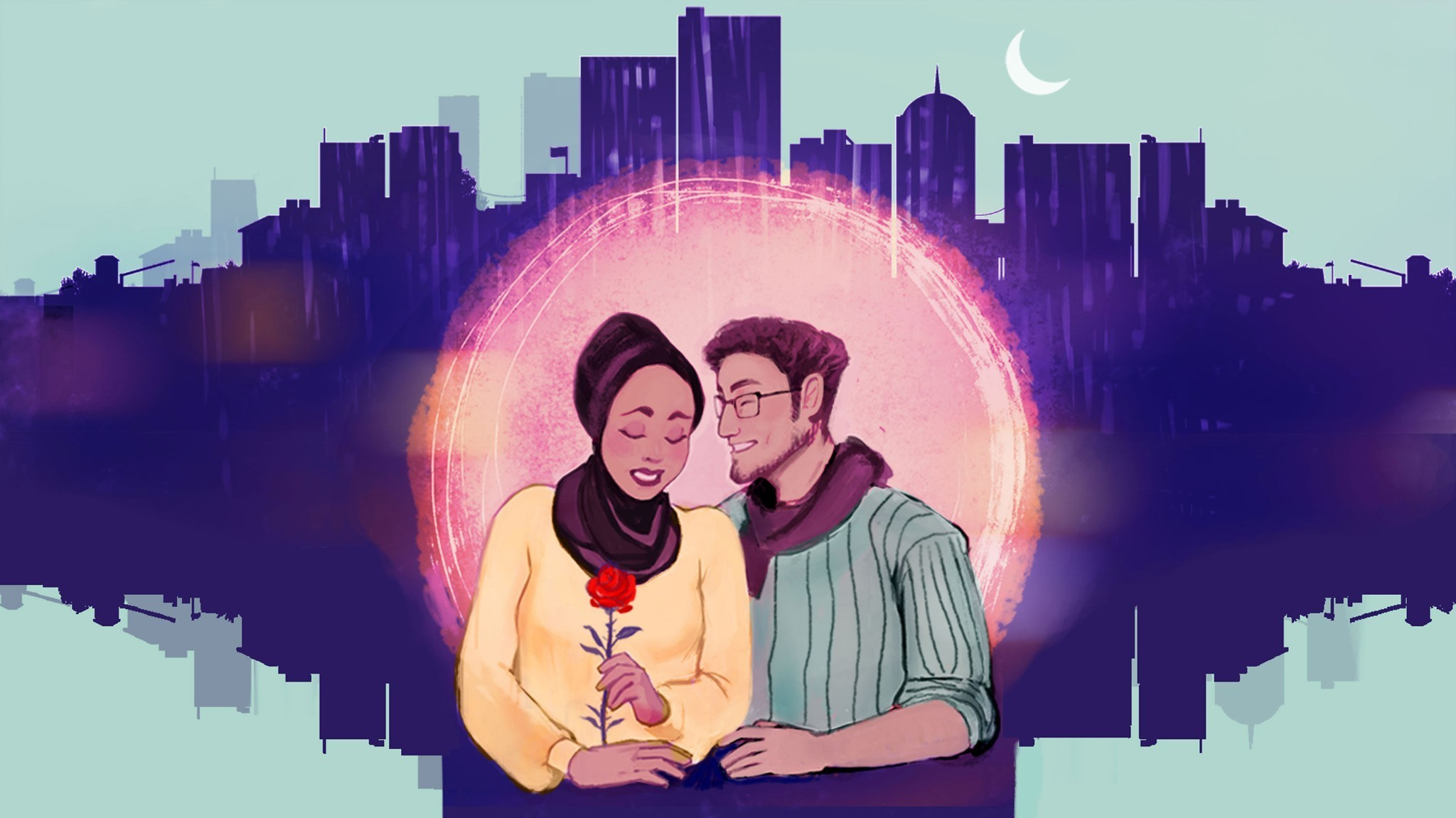 How Young Muslims Define 'Halal Dating' For Themselves