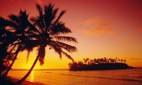 Sailing by the stars in the Cook Islands