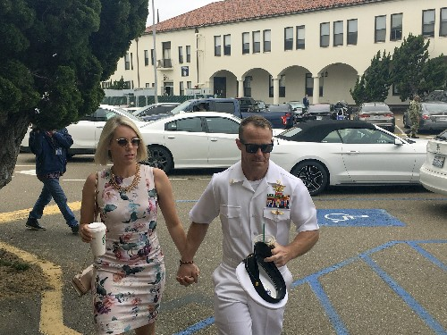 The Latest: Witness at Navy SEAL trial admits killing victim