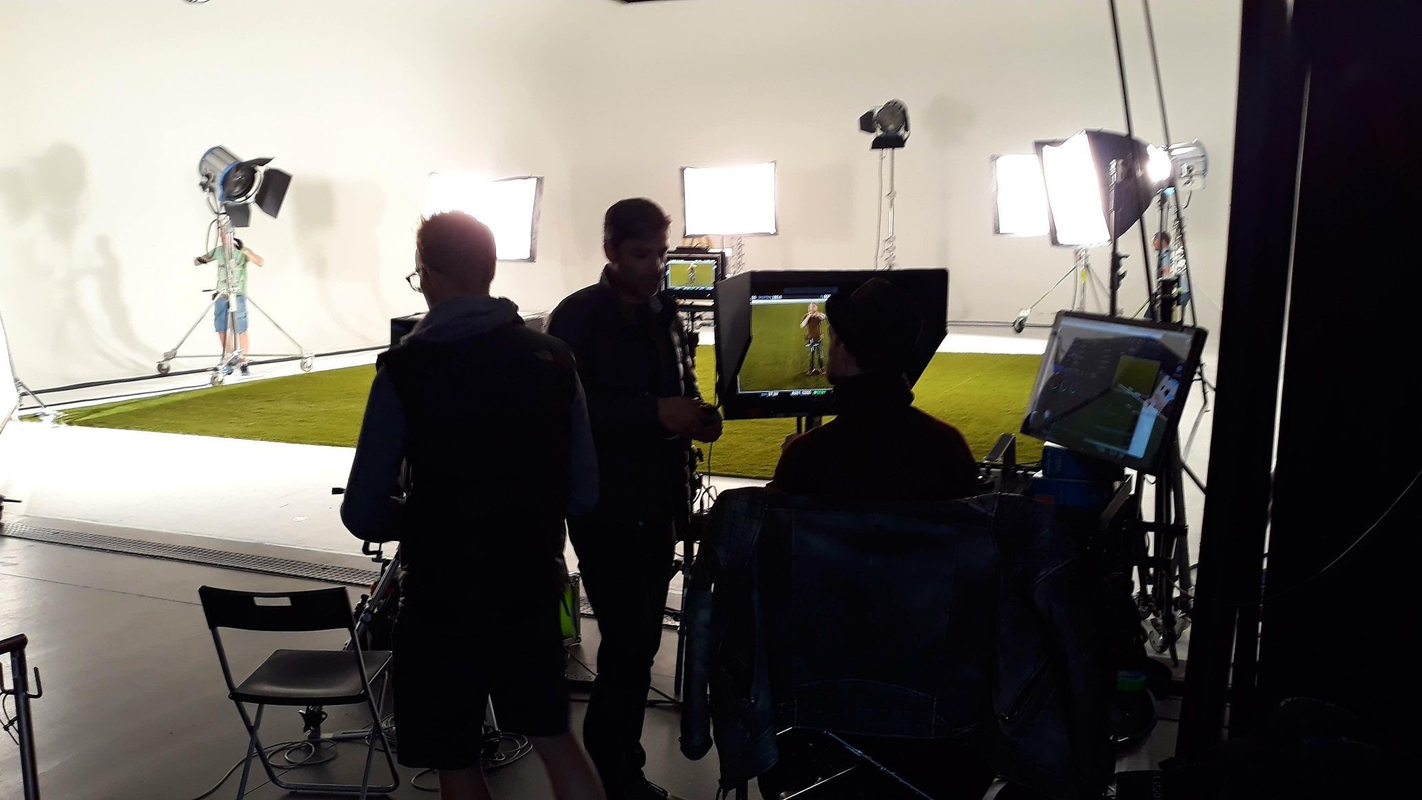 Tv commercial for Deliveroo with #ARTTRAGrass #artificialgrass London