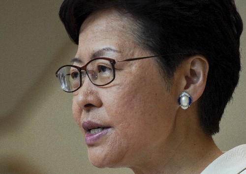 Hong Kong leader: PR firms decline to restore city's image
