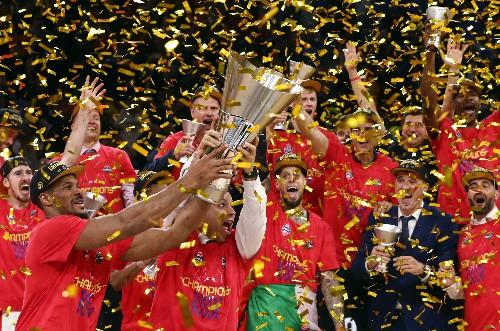CSKA down Anadolu Efes to win eighth Euroleague title