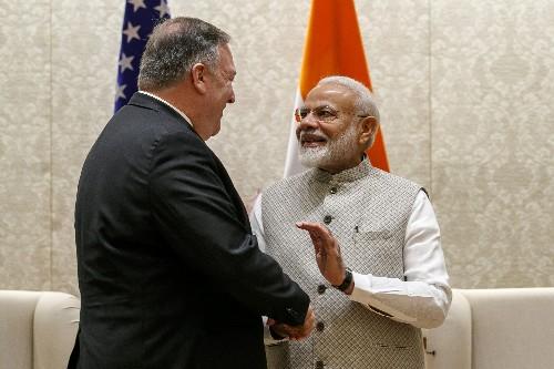 Pompeo meets Indian leader amid trade tensions, Iran crisis