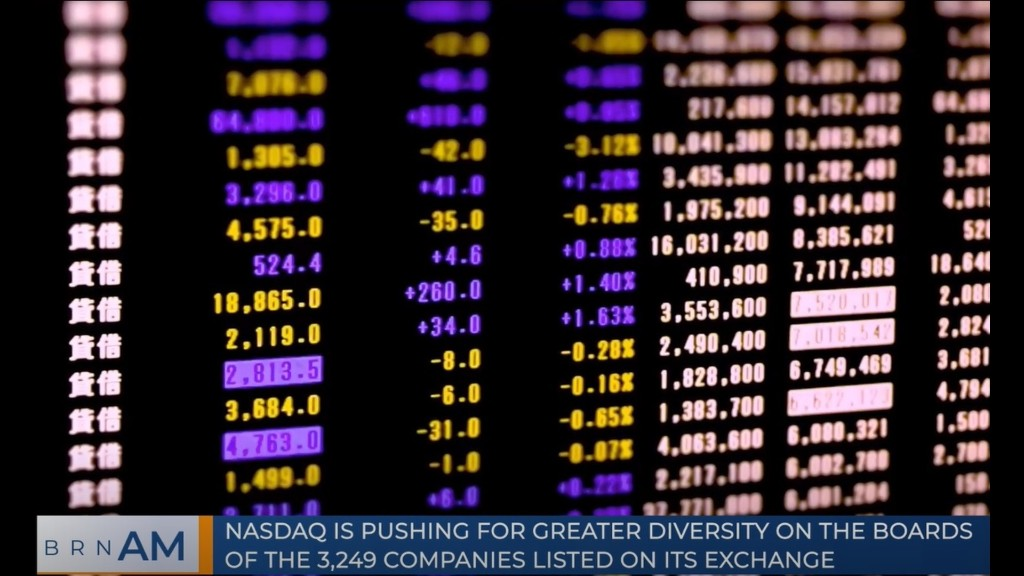ICYMI: NASDAQ's call to diversity, disclose or delist