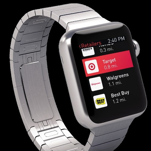 Here's What Shopping With Apple Watch Will Look Like