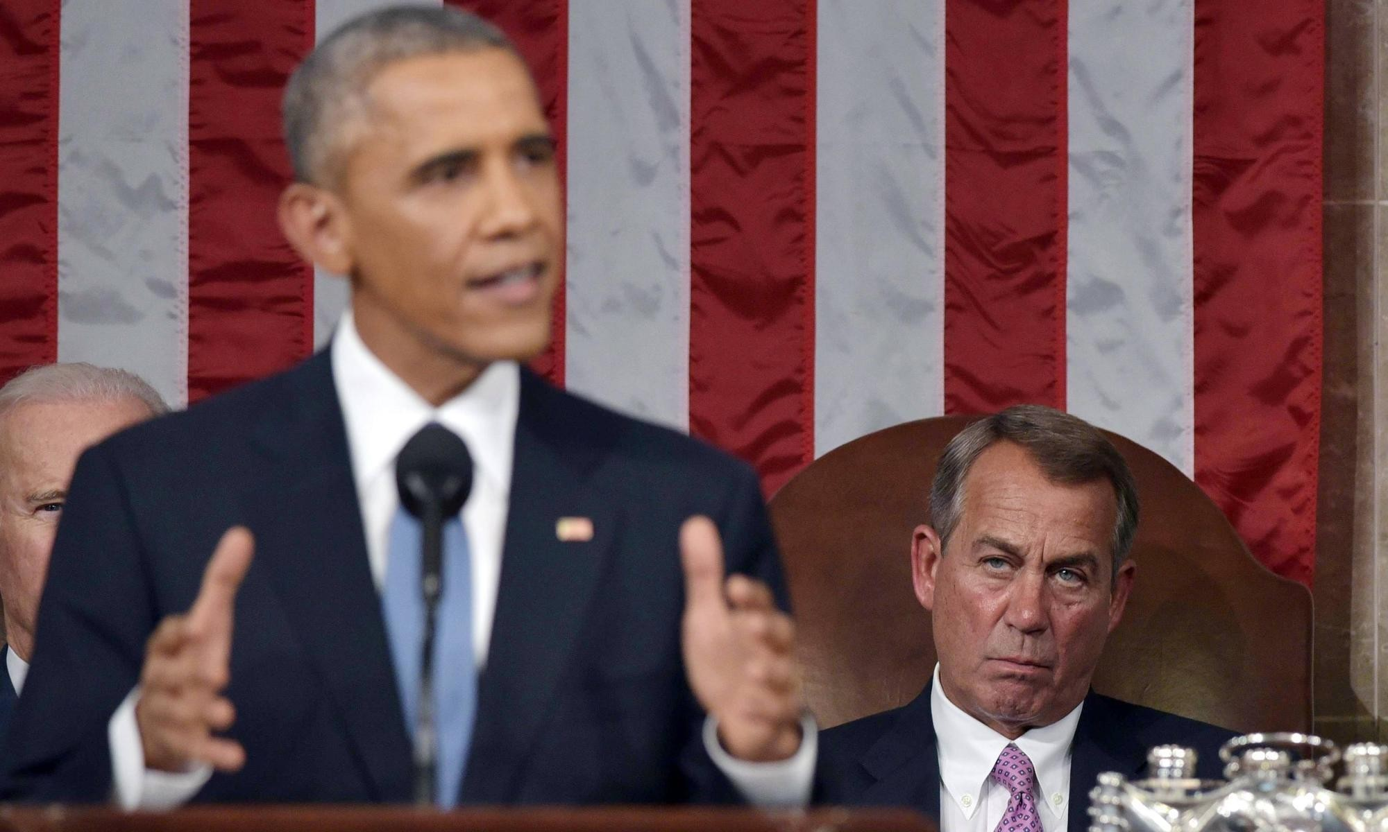 Obama off-the-cuff and full of swagger: State of the Union leaves GOP enraged