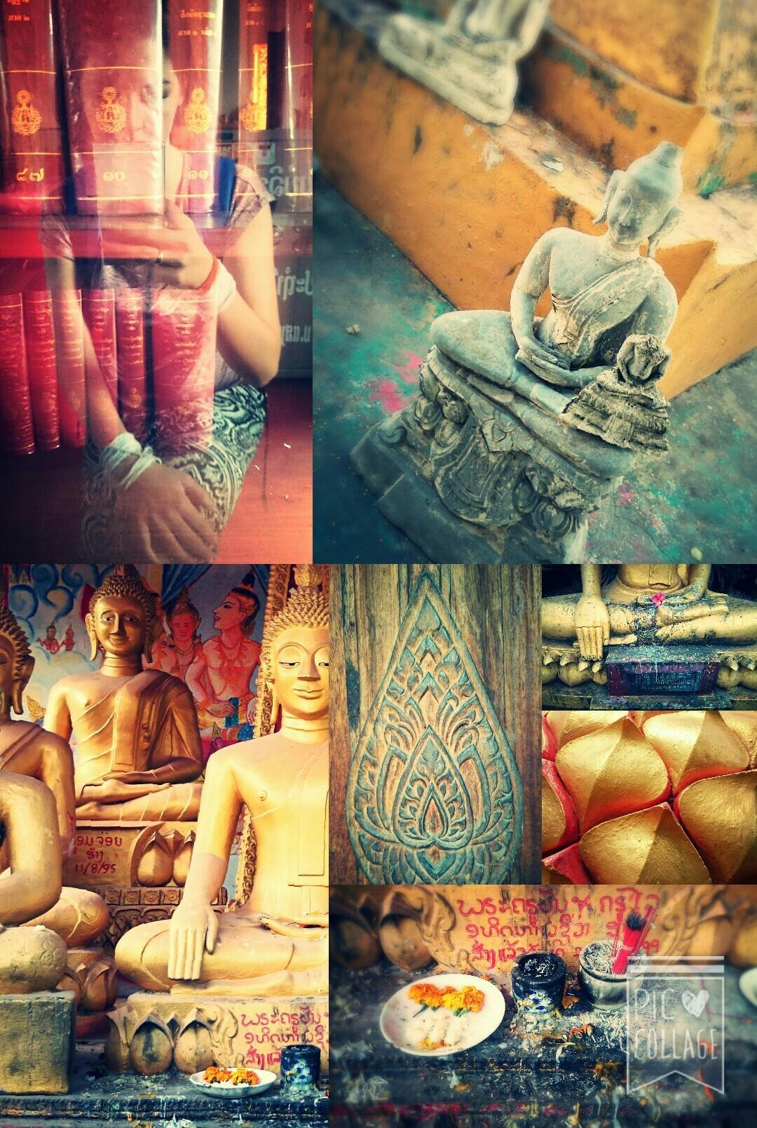 Wat een plaatjes, die tempels in Laos! Alleen al in Vientiane zijn er tientallen (misschien wel 100+) tempels, stuk voor stuk adembenemend. Hier even een kleine impressie van een aantal (bekende) tempels die ik vandaag per fiets bezocht heb. Verhalen en info volgen nog, nu eerst eten...