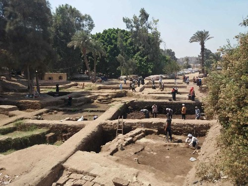 Egypt says archaeologists found more artifacts at Cairo dig