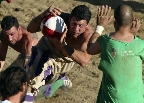 THE SHOT: The Ancient Game of Calcio Storico