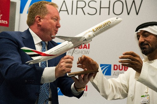 Emirates to get 30 Boeing 787 Dreamliners for $8.8 billion