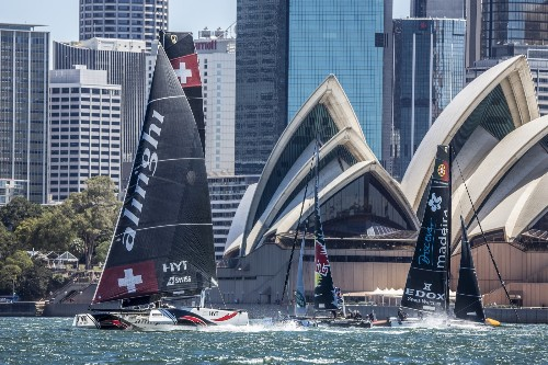 Extreme Sailing in Australia: Pictures