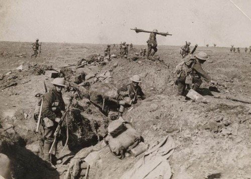 In pictures: Never before seen photographs from World War One frontline