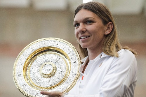 Wimbledon champion Halep enjoys Romania's adulation