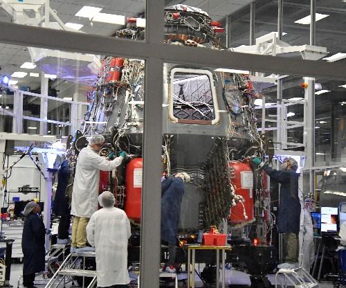 La Nasa espère un premier vol habité pour la capsule de SpaceX début 2020
