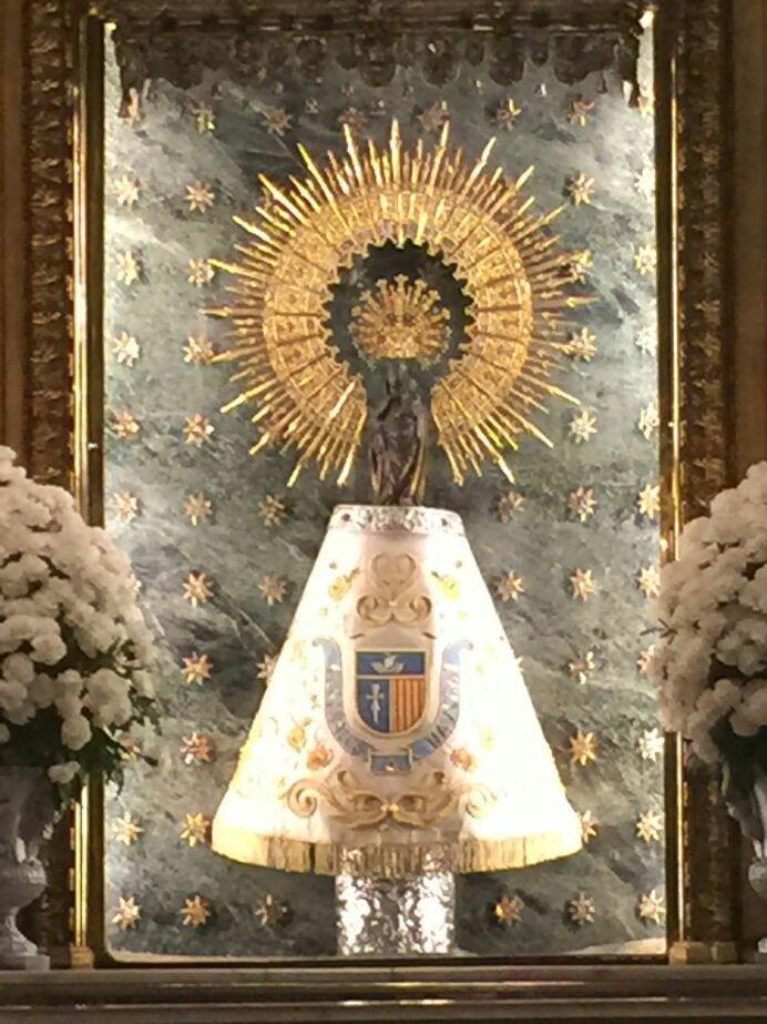 Matón blano virgen del Pilar..deseo cumplido