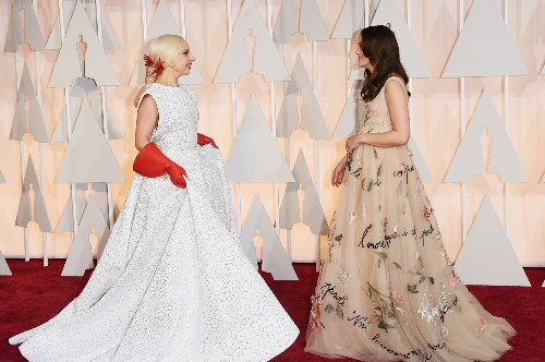 The Oscars: Red Carpet In Pictures