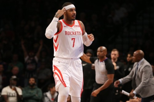 NBA Reports: Reps working on landing place for Carmelo Anthony
