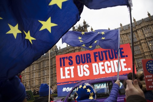 The Battle Over Brexit: Pictures