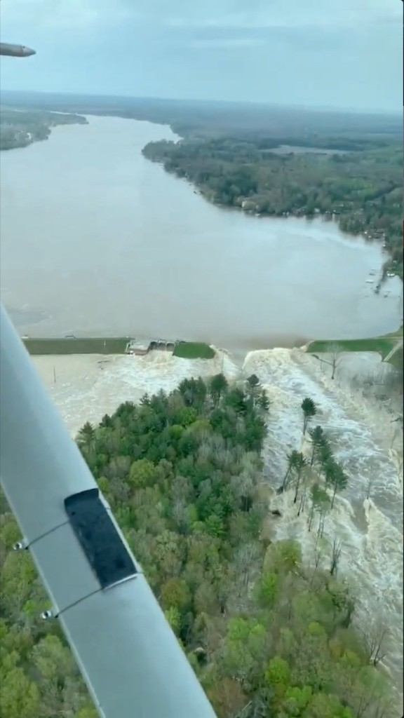 Dams Breached, Parts of Michigan Flooded: Pictures