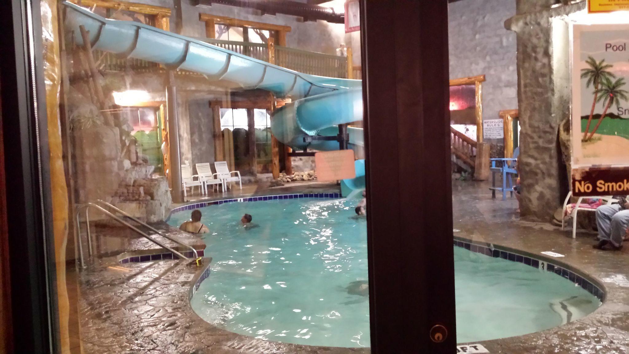 inside waterslide yeeeaaaa!
