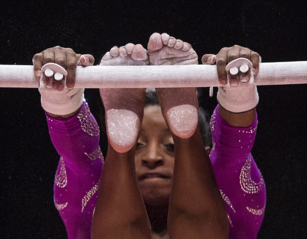Gymnastics - Magazine cover
