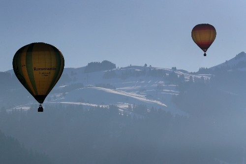 International Hot Air Balloon Week in Switzerland: Pictures