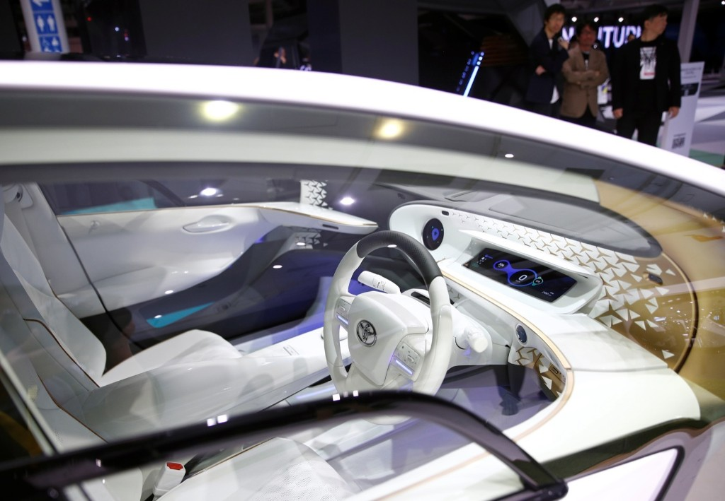 Futuristic Designs at the Tokyo Motor Show: Pictures