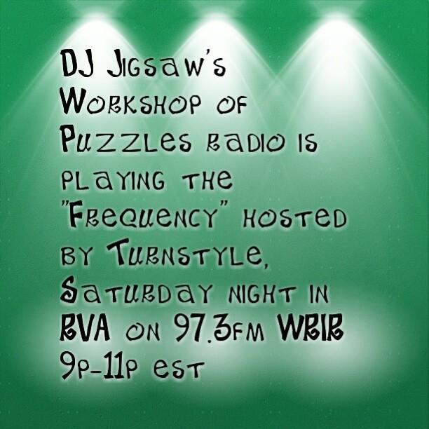#DJ #Jigsaw #LIVE #Tonight #RVA #WRIR 97.3 FM
