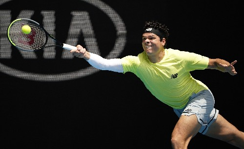 In-form Raonic downs Cilic to ease into quarter-finals