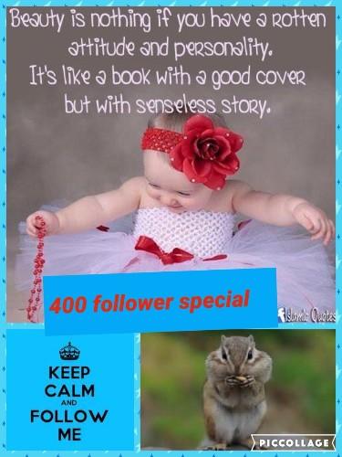 #400 follower special #follower specials