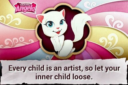 Every child is an artist, so let your iner child out
