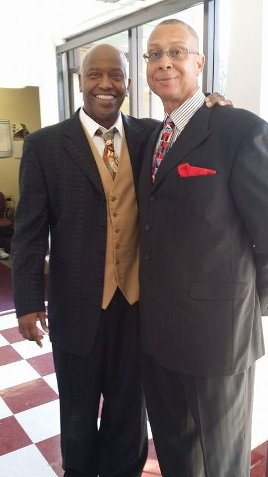 Pastor William Mims and Eugene