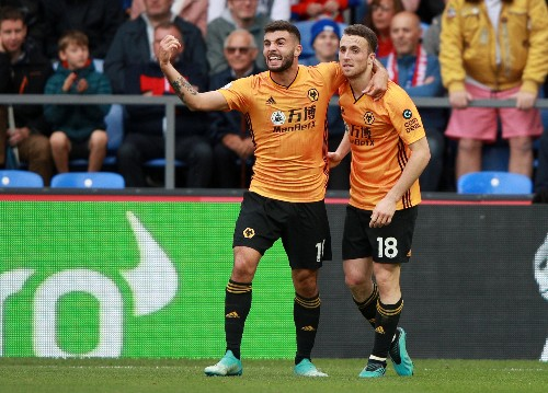 Jota's late goal earns Wolves a point at Palace