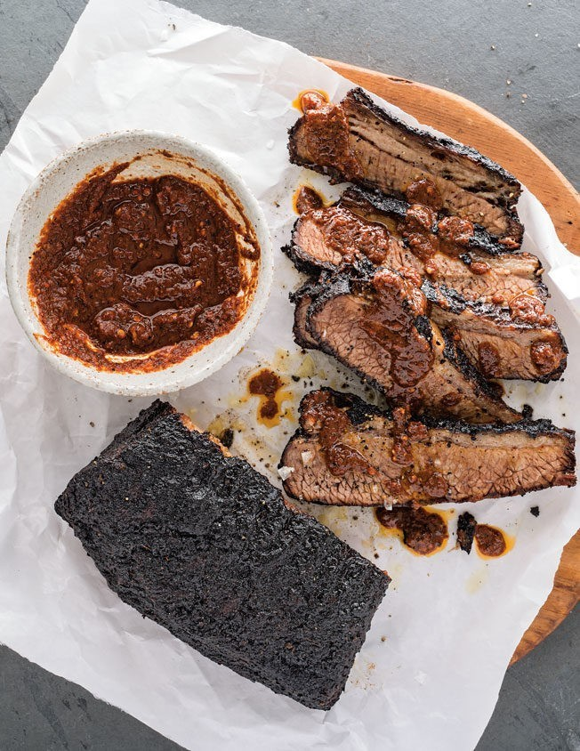 Barbecued Brisket Recipe with Ancho Chocolate Sauce | Williams Sonoma Taste