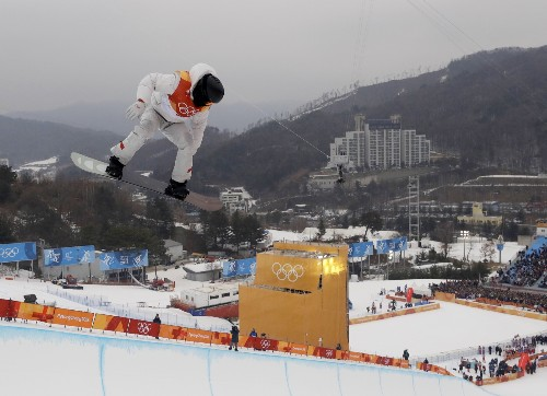 Highlights from Day 5 at the Winter Games: Pictures