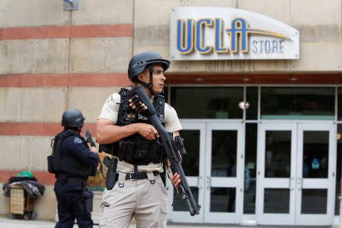 Shooting on the UCLA Campus: Pictures