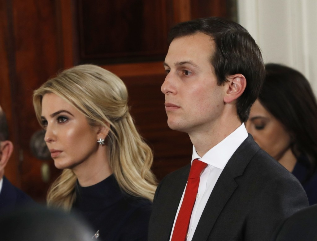 Jared Kushner and Ivanka Trump should recuse themselves from China policy