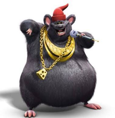 When biggie Cheese takes your grill