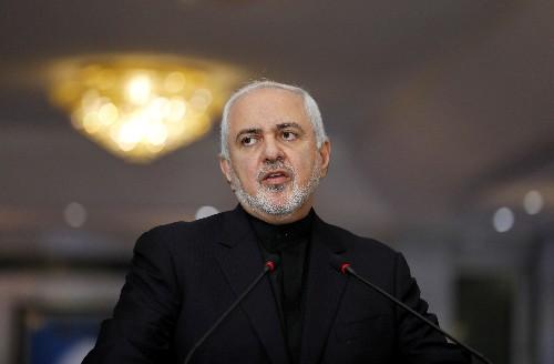 """Iran's Zarif says """"B-Team"""" wants war, not diplomacy, with Tehran"""