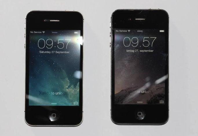 Here's how iOS 8.0.2 compares to iOS 7 on an iPhone 4s