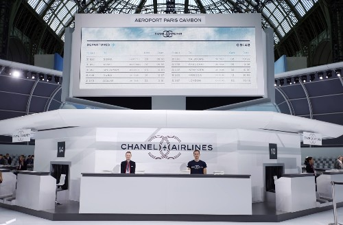 Chanel Presents at Paris Fashion Week: Pictures