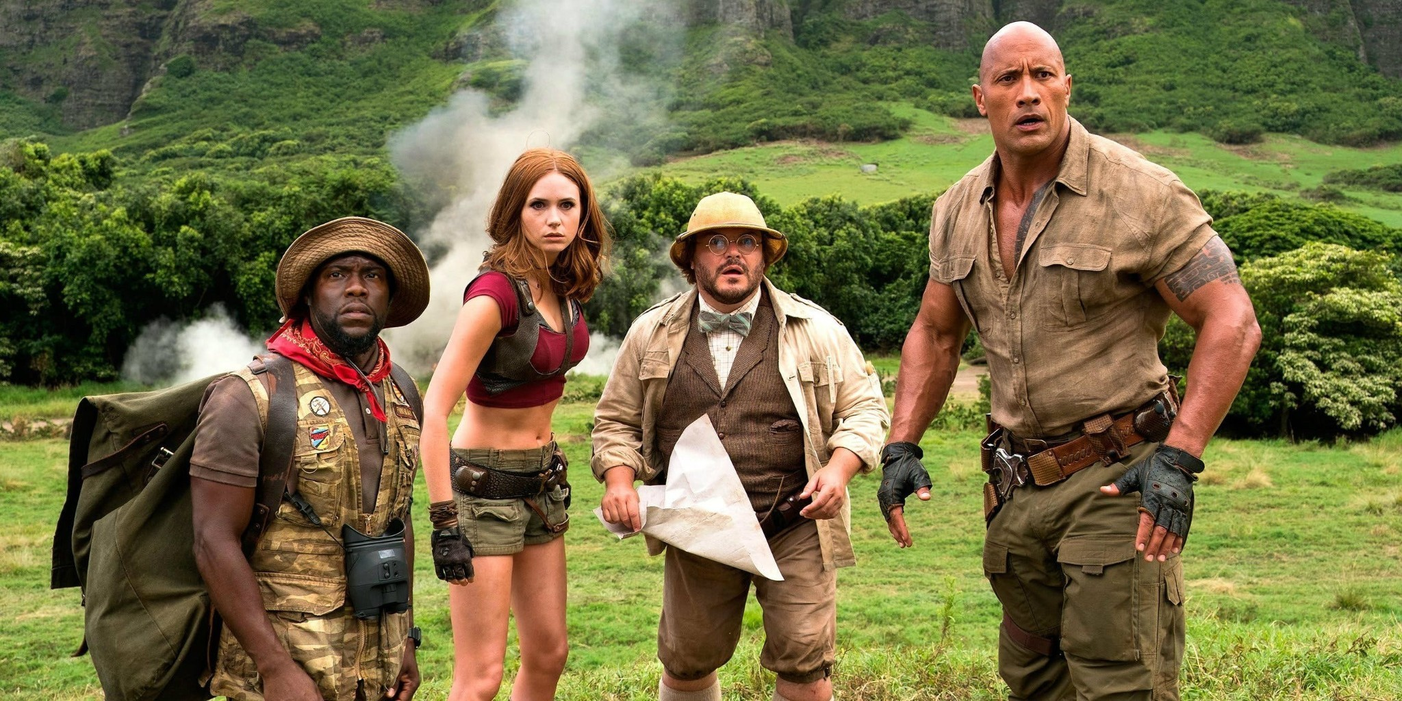 Jumanji: Welcome to the Jungle takes an old concept in an appealing new direction