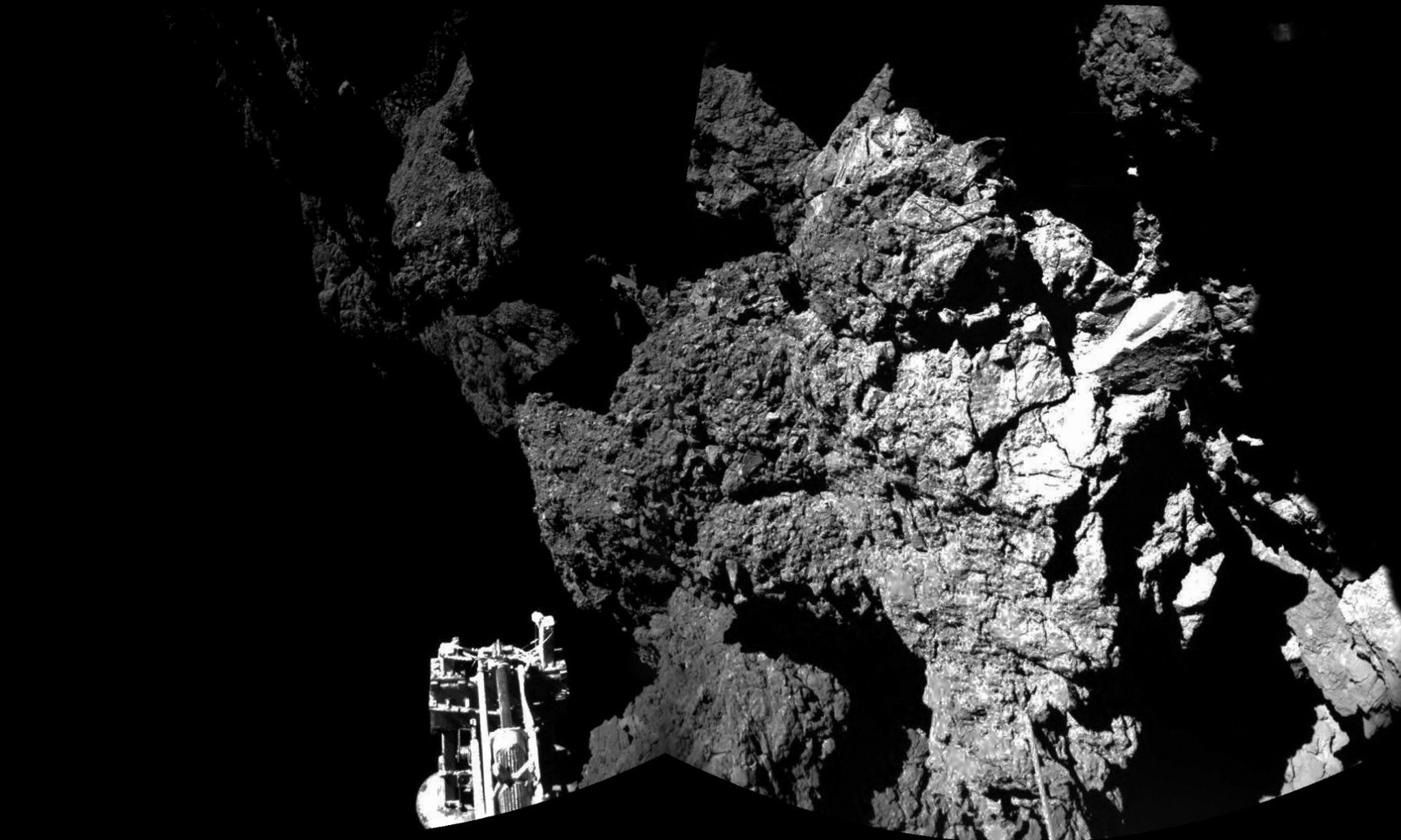 Rosetta mission's Philae lander powers down in comet's darkness