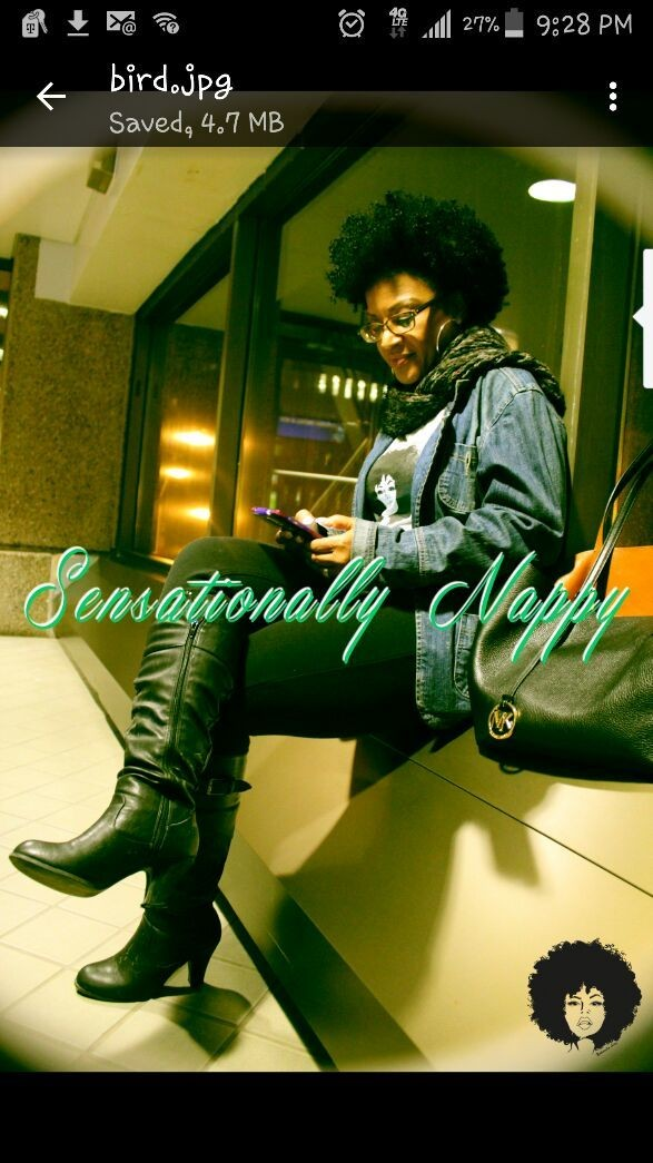 Promoting new small business for natural hair lovers